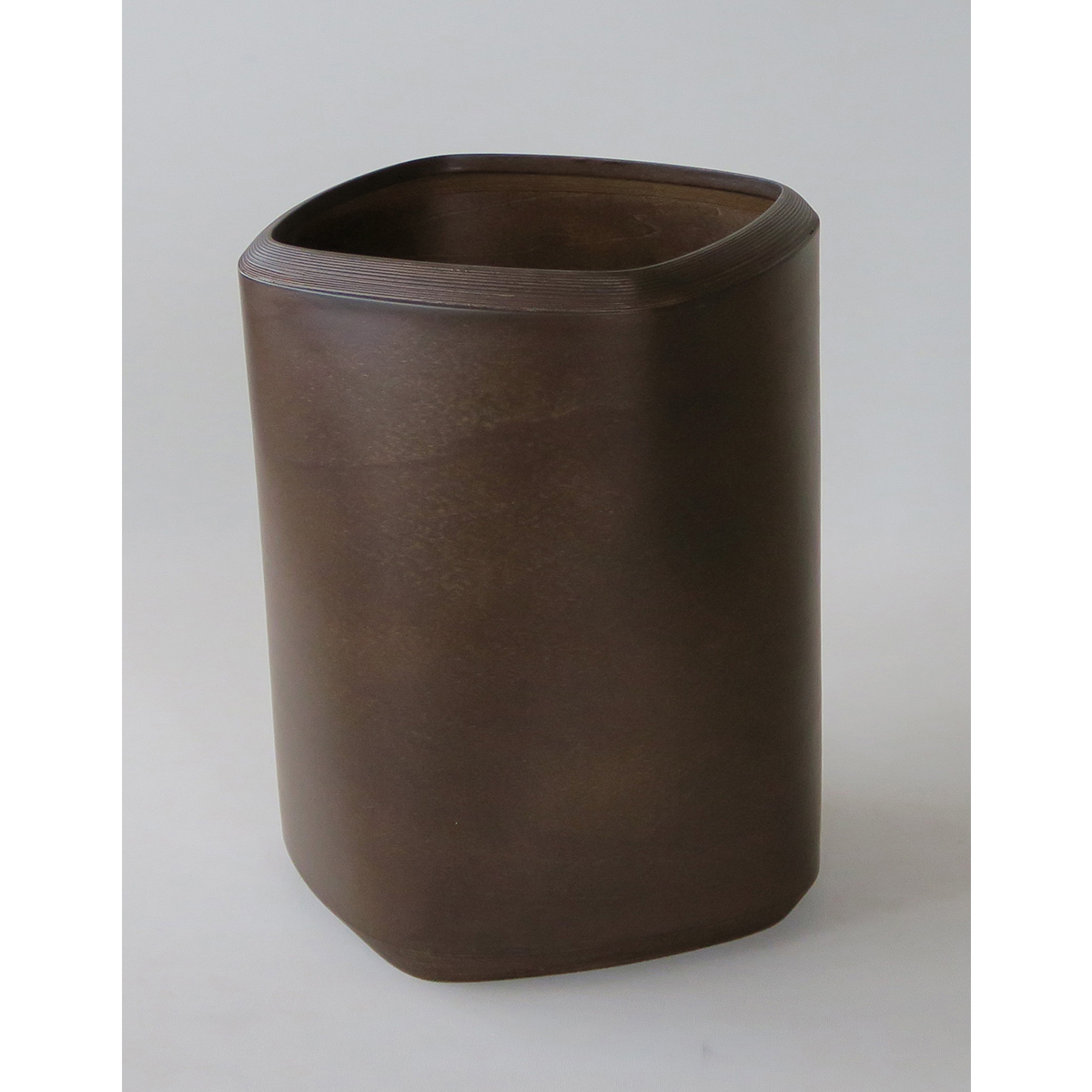 ブナコ INTERIOR GOODS DUST BIN IB-D9246 Dark brown /マルゲリータ