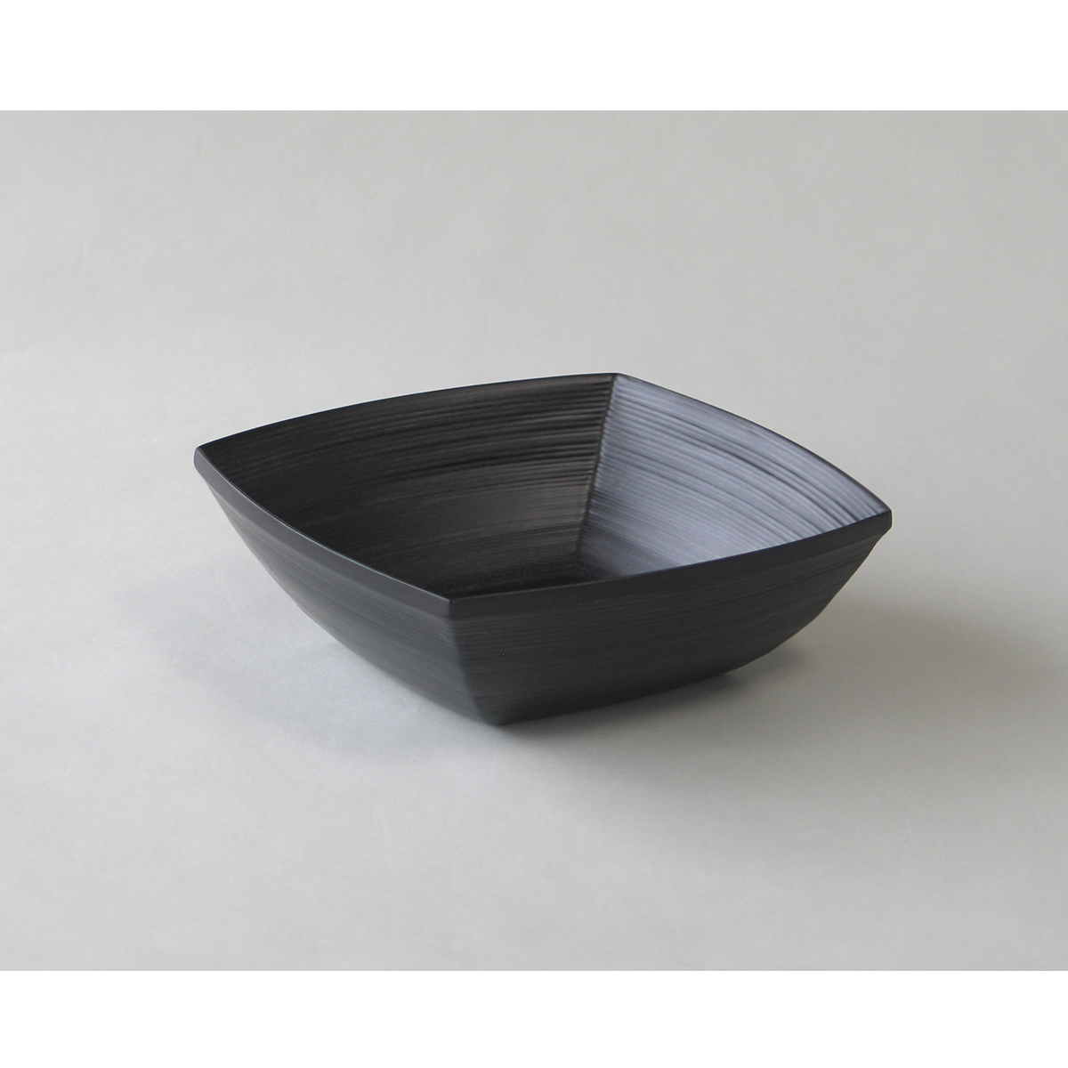 ブナコ TABLEWARE BLACK BOWL #169 square /マルゲリータ