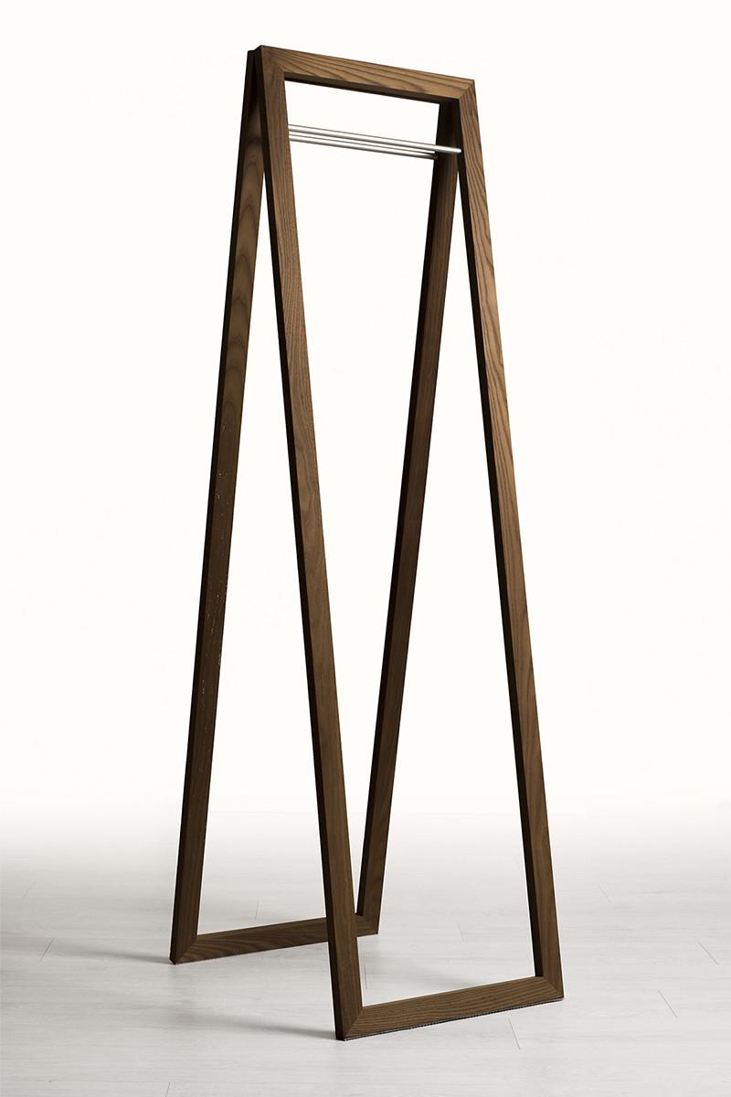 Wooden coat hanger type single-stage (hang coat hanger wooden folding dressing design hanger rack coat stand door coat hung clothes coat hanger stand) ... & margherita | Rakuten Global Market: Wooden coat hanger type single ...