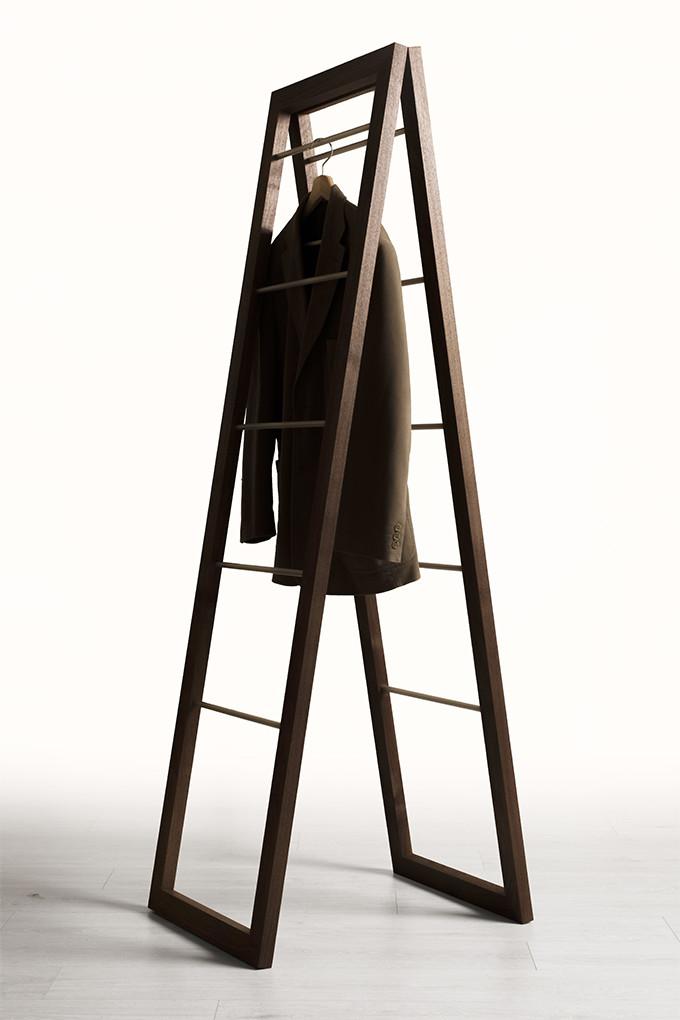 木製コートハンガー 5段タイプ(コートハンガー 木製 折りたたみ おしゃれ デザイン 送料無料 ハンガーラック コートスタンド 玄関 コート掛け 洋服掛け ハンガースタンド コートラック)CH-15 /マルゲリータ
