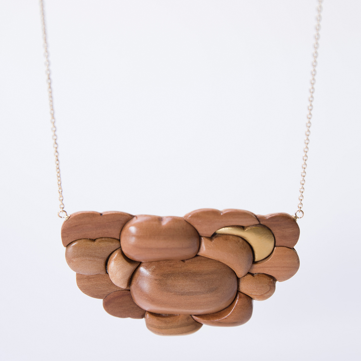 CHITOSE GRAINS 1 りんごたち ネックレス ロング 木村木品製作所 /マルゲリータ