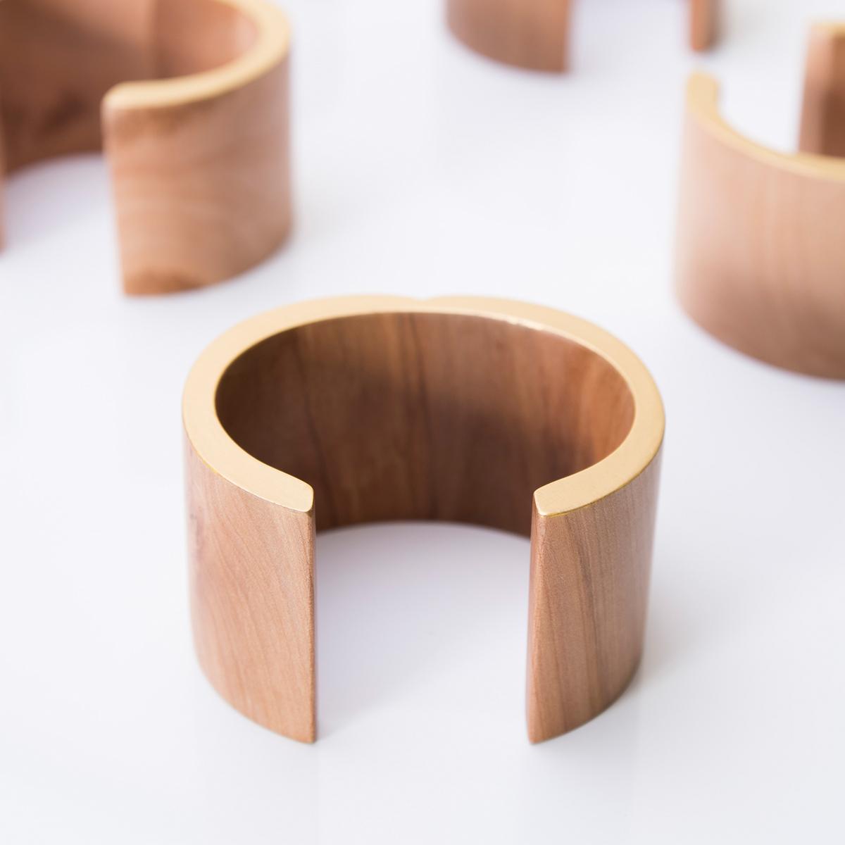 CHITOSE SLICE C 光を溜めるりんご ブレスレット 木村木品製作所 /マルゲリータ