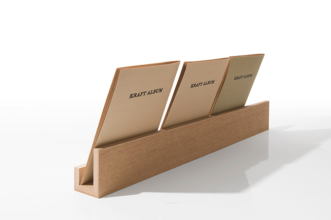 Margherita Book Stand Long Wooden Stylish Tabletop Industrial