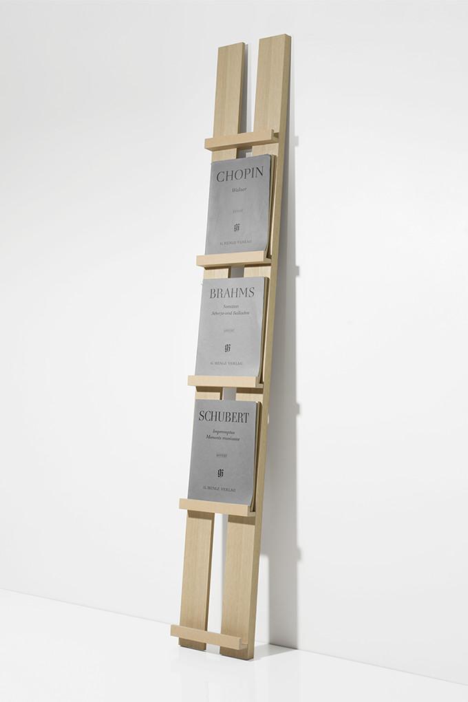 楽譜棚 楽譜 ピアノ 1列タイプ(木製 おしゃれ カタログスタンド 壁掛け 壁 壁面 本 雑誌 収納 ディスプレイラック デザイン インテリア 大容量 送料無料)MR-01 /マルゲリータ