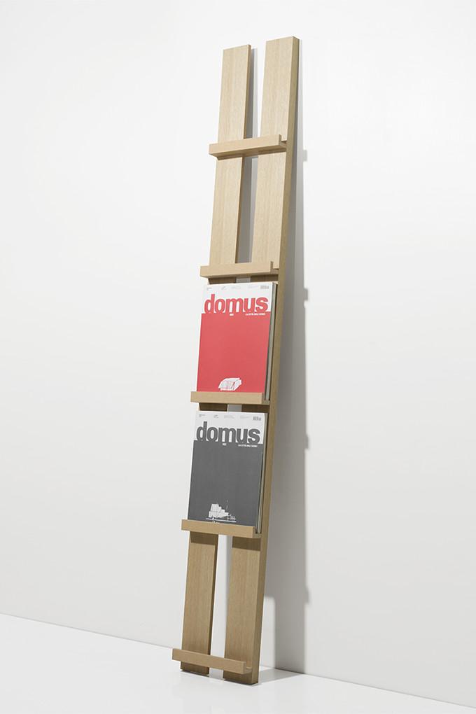 マガジンラック 1列タイプ(木製 おしゃれ カタログスタンド 壁掛け 壁 壁面 本 雑誌 収納 ディスプレイラック デザイン インテリア 大容量 送料無料)MR-01 /マルゲリータ