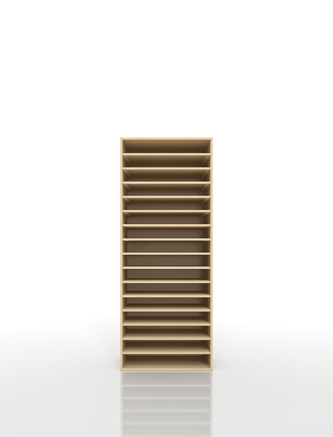 Wooden Paper Shelf A3 16 (document Storage Shelf Documents Organized  Shelves Documents Rack Documents Case Documents Tray Documents Put Worn  Drawing Cabinet ...