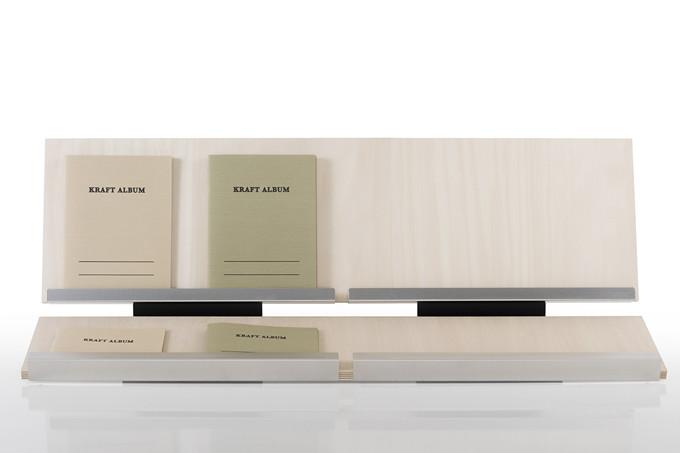 ブックスタンド 木製 W900タイプ(カタログスタンド 店舗 展示会 ディスプレイ用品 展示什器 卓上スタンド)BS-07-900/マルゲリータ