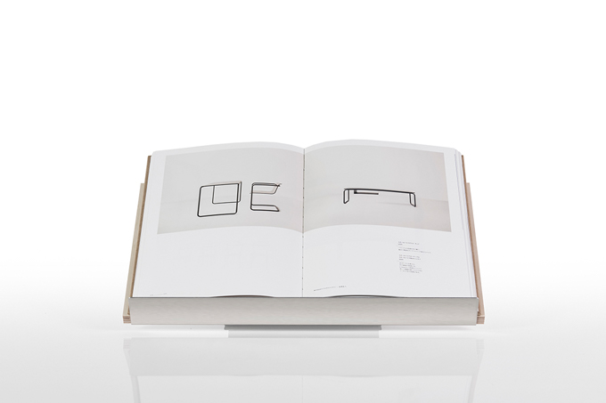 厚い本を開いて見せる展示台 数量限定 ブックスタンド 激安卸販売新品 幅450mmタイプ マルゲリータ
