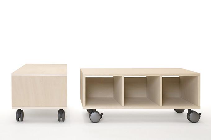 プリンターワゴン 1段タイプ 大容量(A4用紙収納) /マルゲリータ