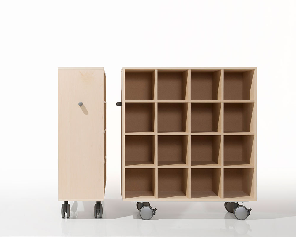 Margherita Cd Rack Rack Wooden Casters With Cd Rack Cd Storage