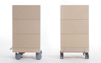 多目的収納箱・3段セット/小・深めタイプ(キャスター付き収納ボックス・キャスター・可動式・移動式・収納ケース・収納ラック・本棚・コミック・木製・大容量・送料無料)(BLC-04×3・SCS-04-C×1・ SCS-04-B×1) /マルゲリータ