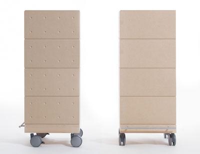 CDラック おしゃれ 大容量 収納ボックス・CDラック・CD収納箱・4段セット/小・深めタイプ(キャスター付き収納box・キャスター・可動式・移動式・収納ケース・収納ラック・木製・大容量・送料無料)(BLC-04×4・BLC-16-TA×4・SCS-04-C×1・ SCS-04-B×1) /マルゲリータ