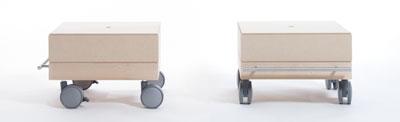 小物/衣類収納箱・1段セット/小・浅めタイプ(キャスター付き収納ボックス・キャスター・可動式・移動式・収納ケース・収納ラック・木製・送料無料)(BLC-04H×1・BLC-16-XL×1・SCS-04-C×1・ SCS-04-B×1) /マルゲリータ