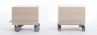 小物/衣類収納箱・2段セット/小・浅めタイプ(キャスター付き収納ボックス・キャスター・可動式・移動式・収納ケース・収納ラック・木製・送料無料)(BLC-04H×2・BLC-16-XL×2・SCS-04-C×1・ SCS-04-B×1) /マルゲリータ