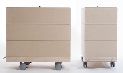 文庫本収納箱・3段セット/大・深めタイプ(キャスター付き収納ボックス・キャスター・可動式・移動式・収納ケース・収納ラック・木製・大容量・送料無料)(BLC-16H×3・BLC-16-HI×6・SCS-16-C×1・ SCS-16-B×1) /マルゲリータ