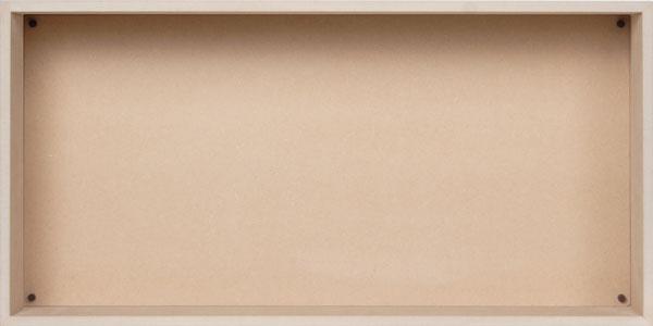 多目的収納箱/大・浅め(多目的収納ボックス・多目的収納ケース・多目的収納ラック・多目的ラック・木製・大容量)(BLC-16Q×1) /マルゲリータ