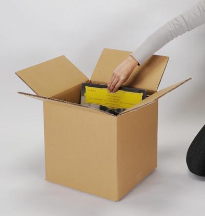 LP Record Cardboard Box 90 For Longitudinal Double Carton 10 Box Sets ( LP  For 12 ...