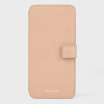 ポールスミス モバイルケース スミシーハート iPhone ケース ピンク Paul Smith