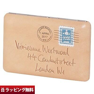 ヴィヴィアンウエストウッド Vivienne Westwood カードケース レディース エンベロープ ベージュ