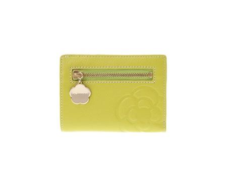 クレイサス 折財布 リモナード Lファスナー二つ折財布 ライム CLATHAS