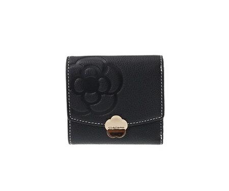 クレイサス 折財布 リモナード ボックス三つ折財布 ブラック CLATHAS