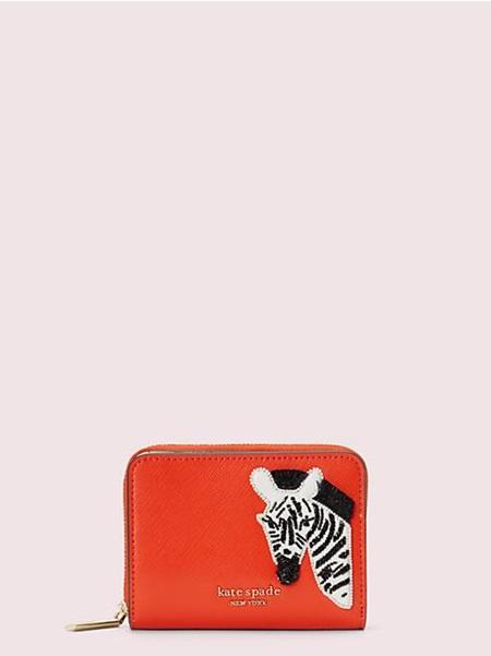 ケイトスペード 折財布 サファリ スモール コンパクト ウォレット TAMARILLO kate spade
