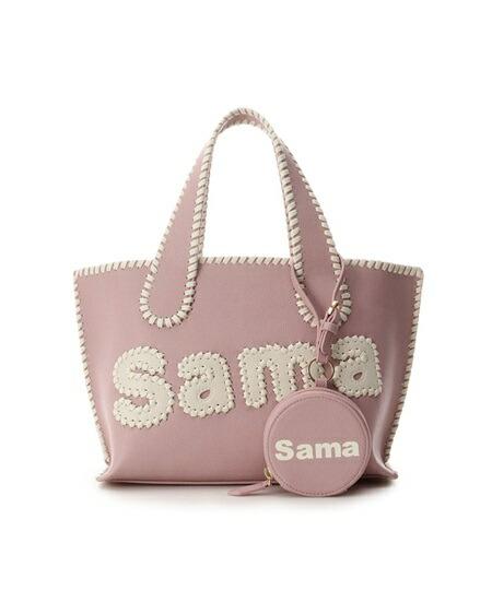 サマンサタバサ トートバッグ サマタバトートバッグ SHOP ORIGINAL Ver. ピンク Samantha Thavasa