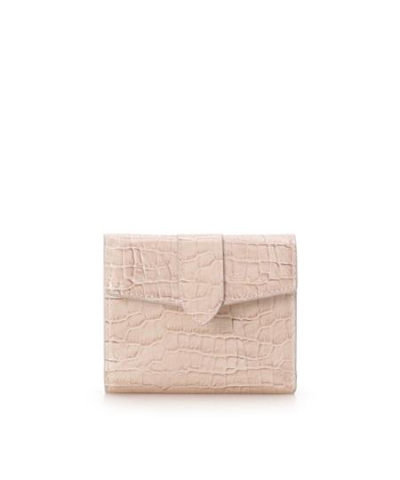 サマンサタバサ 折財布 シンプル ピンク Samantha Thavasa