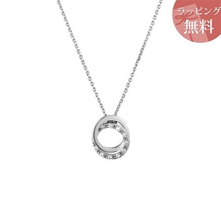 ヨンドシー ネックレス ダイヤモンド サークルモチーフ プラチナ 4℃