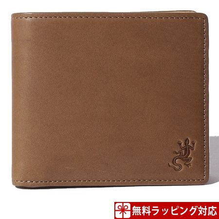 アニエスべー 財布 メンズ 折財布 ウォレット キャメル agnes b