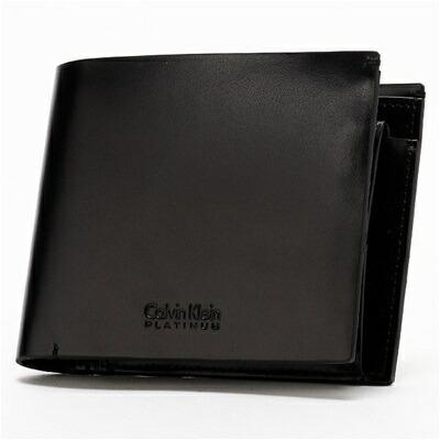 カルバンクライン ノーション 二つ折り財布 ブラック
