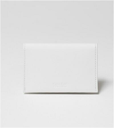 カルバンクライン フォーカス 名刺入れ カードケース ホワイト