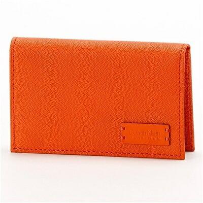 カルバンクライン セイム 名刺入れ カードケース オレンジ