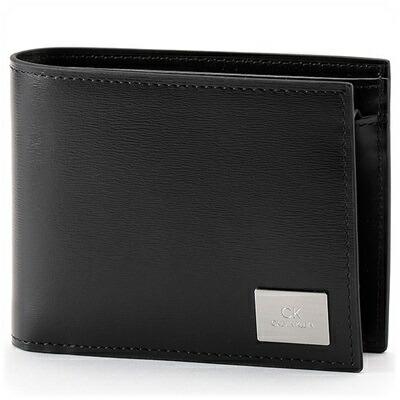 カルバンクライン 折財布 レジンII小物 ブラック