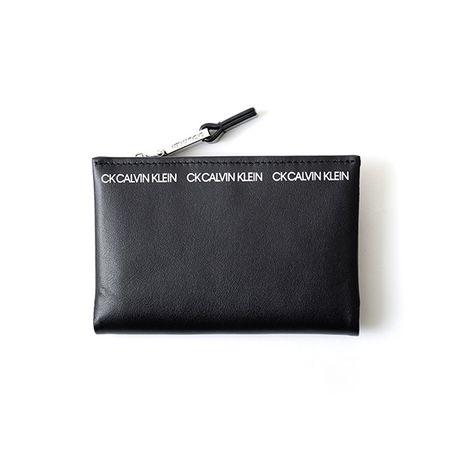 カルバンクライン パスケース アンダー財布 小銭入れ兼用パスケース クロ CalvinKlein