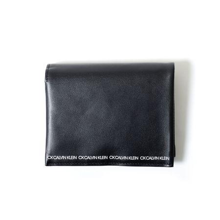 カルバンクライン 折財布 アンダー財布 二つ折り財布 クロ CalvinKlein