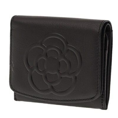 クレイサス ソフトスムースレザーBOX財布 ブラック