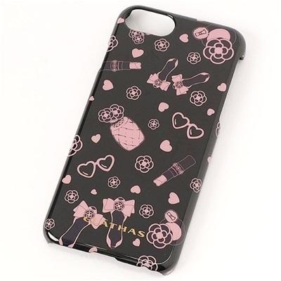 クレイサス アマレッティ iPhone8/7/6s/6対応スマホケース ブラック