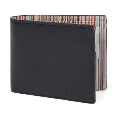 ポールスミス NEW インサイドマルチ 2つ折り財布 マルチカラー