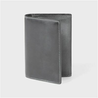 カードケース ポールスミス・コレクション 名刺入れ PC蝋引きコードバン ブラック