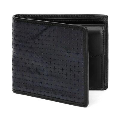 ポールスミス PCパーフォレート 二つ折り財布 ネイビー