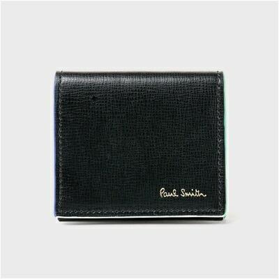 ポールスミス カラードエッジ コインケース 小銭入れ ブラック