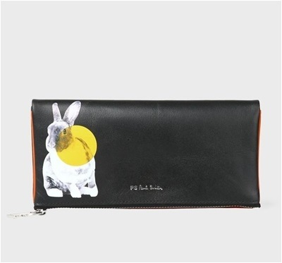 【あす楽】【訳あり特価】ポールスミス 長財布 Lucky Rabbit イエロー