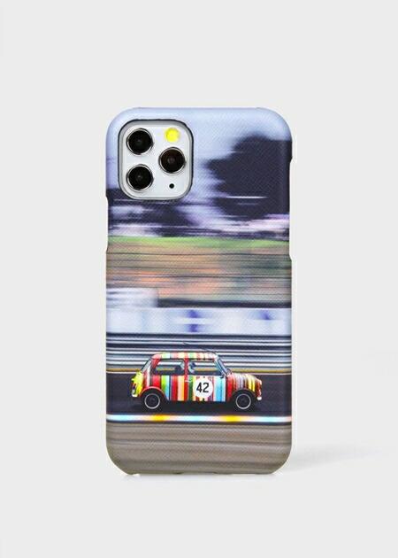 ポールスミス モバイルケース レーシングミニ iPhoneケース ブラック Paul Smith