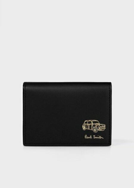 ポールスミス 折財布 ミニエンボス 3つ折り財布 ブラック Paul Smith