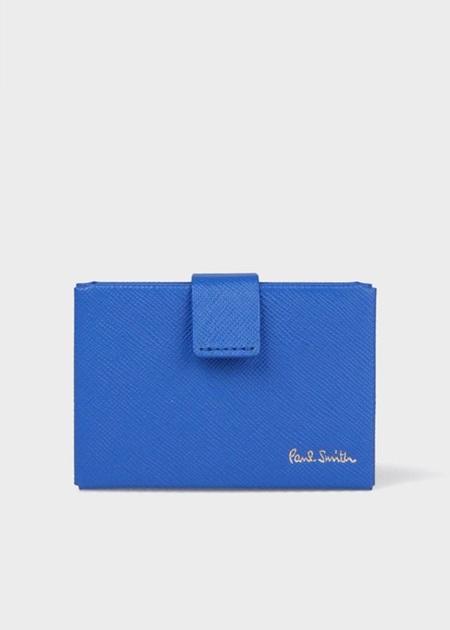ポールスミス カードケース ウィメンズ オリガミ S ブルー Paul Smith