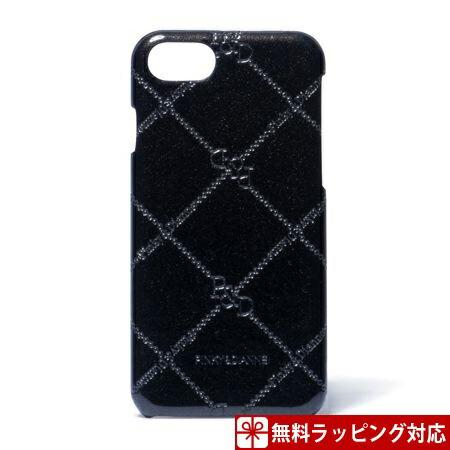 ピンキー&ダイアン スマホケース レディース スマートフォンハードケース iPhone6/6s/7対応 チェックエナメル ブラック Pinky&Dianne