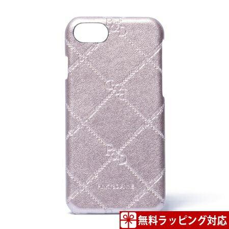 ピンキー&ダイアン スマホケース レディース スマートフォンハードケース iPhone6/6s/7対応 チェックエナメル ピンクゴールド Pinky&Dianne