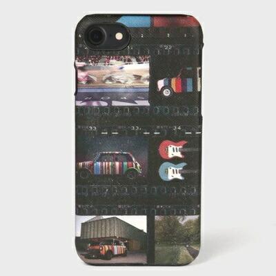 ポールスミス モバイルケース ミニフィルムストリップ iPhone ケース ブラック Paul Smith