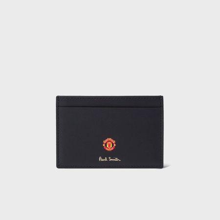 ポールスミス パスケース Paul Smith & Manchester United ブラック Paul Smith